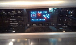 Easy to cook, you just pre-heat the oven to the listed temperature and then put the pizza in.
