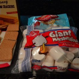 I purchased Graham Crackers and found Giant Marshmallows and Normal Size